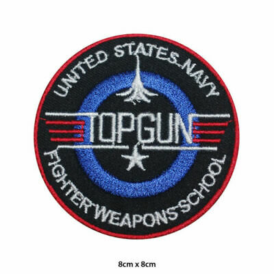 £1.75 • Buy TOP GUN Video Game Logo Embroidered Patch Iron On Sew On Badge For Clothes