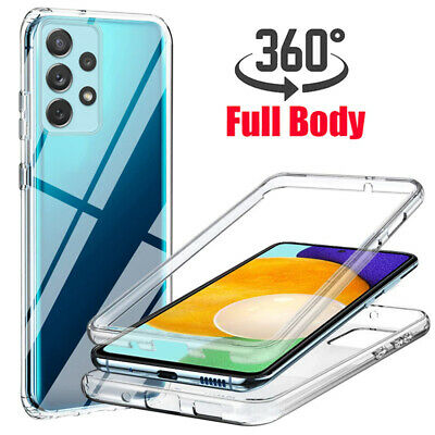 $ CDN5.13 • Buy For Samsung Galaxy S21 Ultra S10 S9 S8 S7 360 CLEAR Full Case Cover Silicone Gel