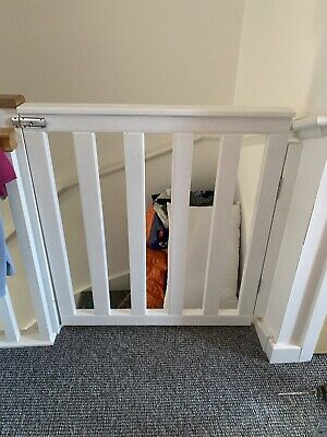 £80 • Buy Wooden Baby/dog Stair Gates (made To Measure) And Fitting Kits