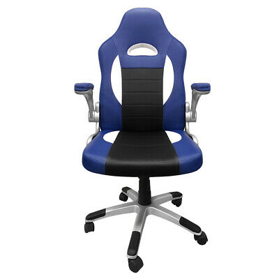 AU113.28 • Buy Adjustable PU Leather Rotating Computer Office Racing Entertainment Gaming Chair