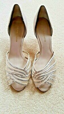 £25 • Buy  Roland Cartier Evening / Wedding Shoes : Crystal Detail : Uk 7 Champagne