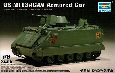 $11.56 • Buy 1/72 TRUMPETER 07237; M113 ACAV  Armoured Personnel Carrier ( Australian Army)