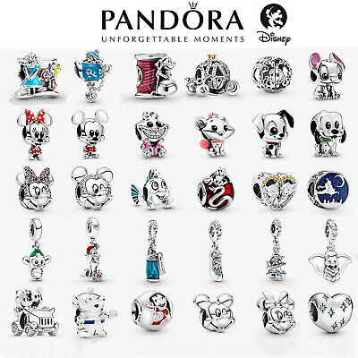 £9.99 • Buy 2021 New Genuine Pandora Disney Charm S925 ALE Sterling Silver & With Gift Pouch