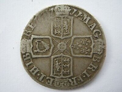 £65 • Buy 1711 Queen Anne Silver Sixpence F