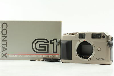 $ CDN347.13 • Buy [Exc+5 In BOX] Contax G1 Green Label Rangefinder Film Camera From JAPAN