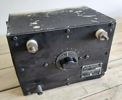 £39.99 • Buy WW2 US Navy Military Radio Collins TCS 12 Antenna Loading Coil COL-47205