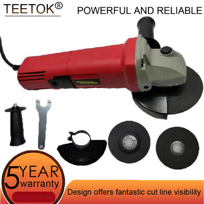 £26.30 • Buy Heavy Duty 850w 4.5  115mm Electric Angle Grinder 2 Discs Cutter Sander Polisher