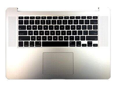 $75.99 • Buy Apple Macbook Pro A1398 15  Mid 2015 Top Case Battery A1618 Keyboard Trackpad