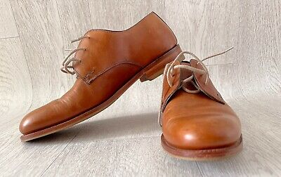 £55 • Buy Charles Tyrwhitt Oxford Brown Leather Brogues Business Shoes Size UK8.5/EU42.5