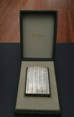 £300.90 • Buy S.T. Dupont Gas Lighter Silver