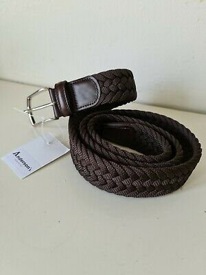 £40 • Buy Anderson's Belt, Brown Plaited ~ Mens  - NEW + TAGS  Size 40UK - 100EU