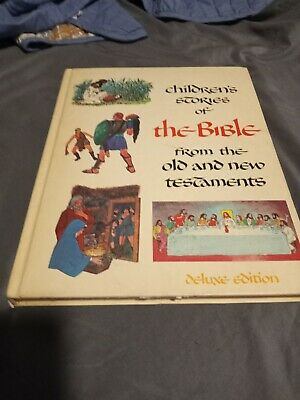 £13.04 • Buy Children's Stories Of The Bible From The Old And New Testaments 1968