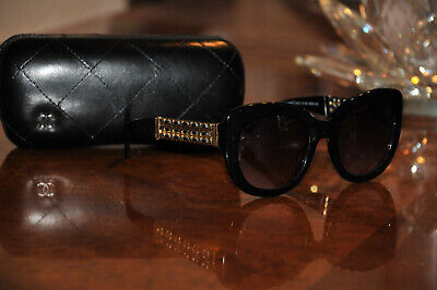 £144.67 • Buy Chanel 5363q Sunglasses Serial Number Ac8755686 With Case