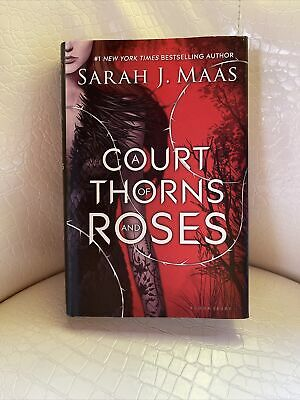 $125 • Buy A Court Of Thorns And Roses By Sarah J. Maas ACOTAR Hardcover Original Cover