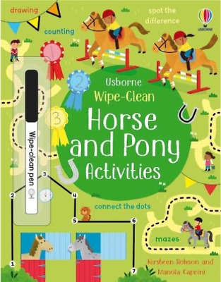 £5.59 • Buy Wipe-Clean Horse And Pony Acti BOOK NEW