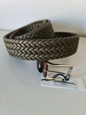 £40 • Buy Anderson's Belt, Weaved Plaited ~ Mens  - NEW + TAGS  Size 40UK - 100EU