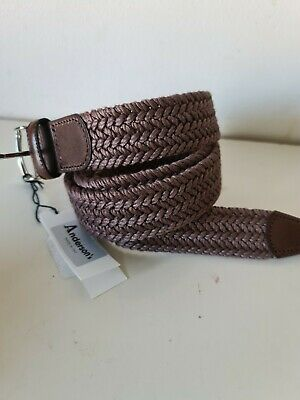 £40 • Buy Anderson's Belt, Weaved Plaited ~ Mens  - NEW + TAGS  Size 38UK - 95EU