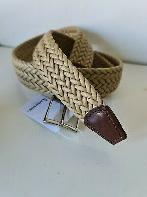 £40 • Buy Anderson's Belt, Weaved Plaited ~ Mens  - NEW + TAGS  Size 44UK - 110EU