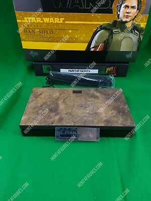 $ CDN55.86 • Buy Hot Toys MMS493 Star Wars Han Solo Mudtrooper 1/6 Action Figure's Base Stand