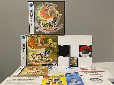 $404.99 • Buy Pokemon HeartGold Complete Nintendo DS W/ Box And Pokewalker Authentic Tested