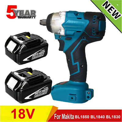 £23.90 • Buy 1/2  Brushless Torque Impact Wrench Cordless Replacement For 18V Makita Battery