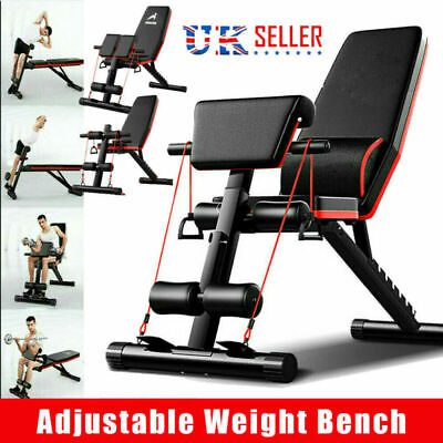 £52.99 • Buy Folding Adjustable Weight Bench Multi-functional Home Gym Exercise Fitness Bench
