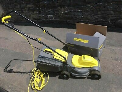 £55 • Buy Challenge MEH1129B 1100W Corded Hover Collect Mower