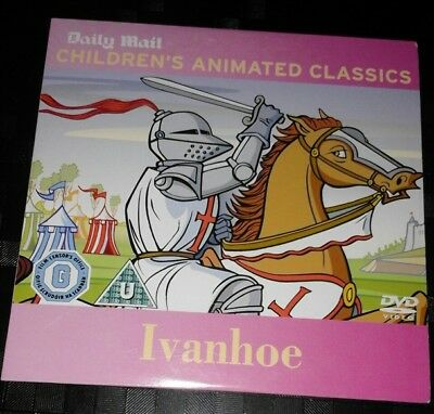 £4 • Buy IVANHOE Children's Animated Classics. Promo DVD From Daily Mail