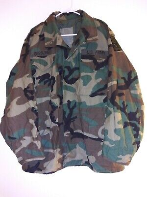 $41 • Buy Military Hunting Woodland Camo M65 Field Jacket Survival Gear Fatigues Med Long