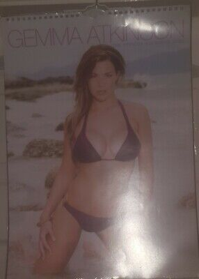 £35.99 • Buy Gemma Atkinson Official Calendar 2009 - BACK ISSUE - Glamour Model Actress