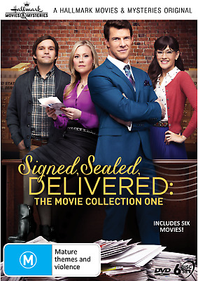 AU69.99 • Buy Signed, Sealed, Delivered - Collection 1 DVD (6-Discs) Hallmark Movies NEW