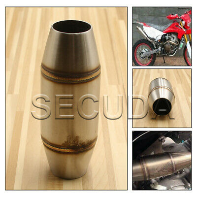 £17.88 • Buy Motorcycle Stainless Steel Exhaust Pipe Muffler Expansion Chamber Pit Dirt Bike