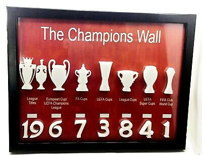 £14 • Buy Liverpool Fc Gift Champions Wall 3d Wall Art Poster Frame