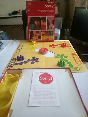 £21.95 • Buy Vintage Sorry Board Game Waddingtons 100% Complete 1970's