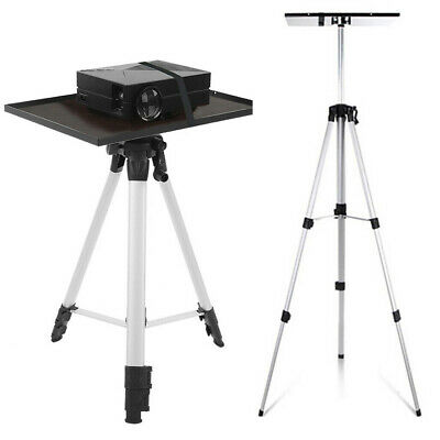 AU43.92 • Buy Universal Tripod Projector Stand Device Tripod Holder Heavy Duty Aluminum Stand