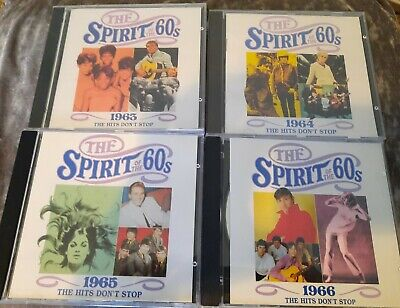 £18 • Buy TIME LIFE MUSIC - THE SPIRIT OF THE 60s -  The Hits Don't Stop 1963 64 65 66