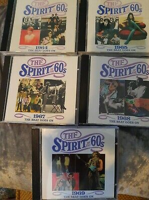 £20 • Buy TIME LIFE MUSIC - THE SPIRIT OF THE 60s - The Beat Goes On. 1964 65 67 68