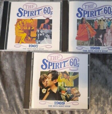£16 • Buy TIME LIFE MUSIC - THE SPIRIT OF THE 60s -  The Hits Don't Stop 1967 68 69