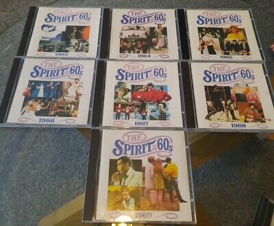 £25 • Buy Time Life~Spirit Of The 60's~ 1963. 1964. 1965. 1966. 1967. 1968. 1969.