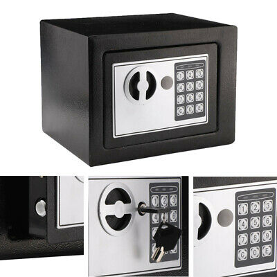 £17.79 • Buy Electronic Password Security Safe Money Cash Deposit Box Office Home 4.6L New