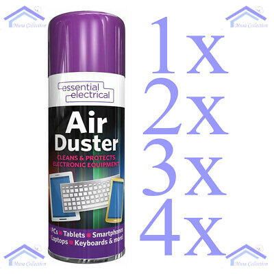 £6.99 • Buy Compressed Air Duster Spray Can Cleans Protects Laptops Keyboards 200ml