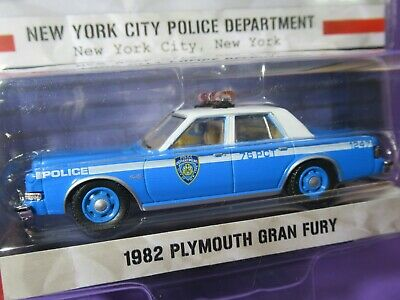 £13.90 • Buy GREENLIGHT, Hot Pursuit, 37 (1:64) 1982 PLYMOUTH GRAN FURY NEW YORK POLICE, NYPD