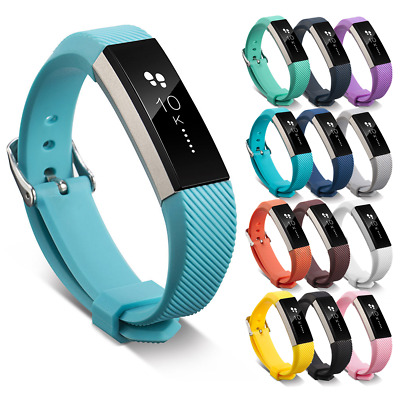 AU4.78 • Buy For Fitbit Alta, HR, ACE Strap Replacement Silicone Buckle Sport Watch Band