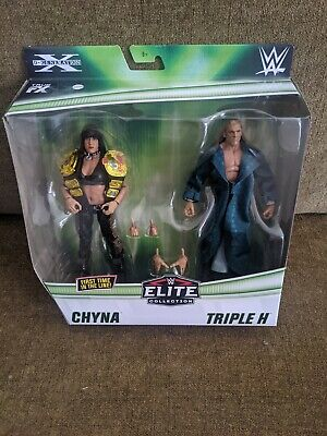 $ CDN64.36 • Buy Chyna & Triple H WWE Elite Collection 2 Pack Series D-Generation X DX HHH WWF