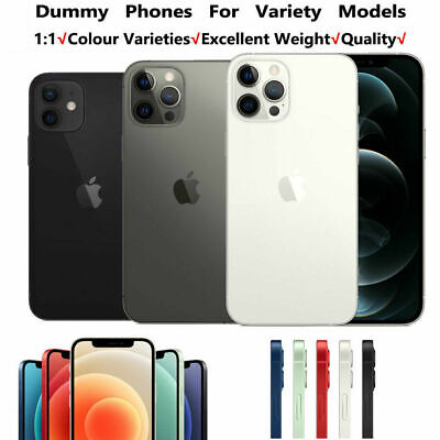 £8.69 • Buy 1:1 Non Working Dummy Model Display Fake Model For IPhone 12/Pro/12 Pro Max Mini