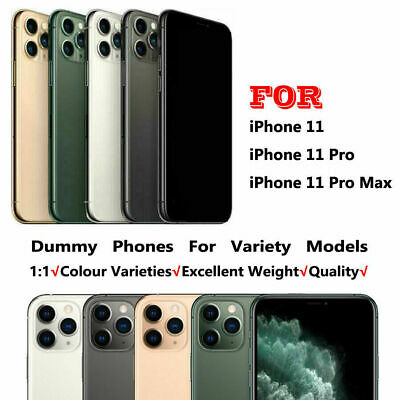£8.69 • Buy 1:1 Non Working Dummy Model Display Toy Fake Model For Phone 11/11Pro/11Pro Max