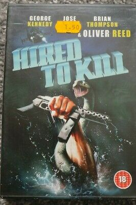 £1 • Buy Hired To Kill -  DVD Disc & Case