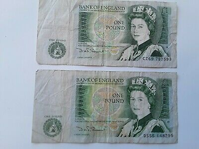 £7 • Buy Paper 1 Pound Notes Two Available Listed Price Is For 1 Item Only