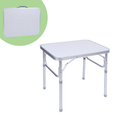 £20.68 • Buy  Aluminium Foldable Table Desk Stand Portable Camping Side Tables Outdoor Garden