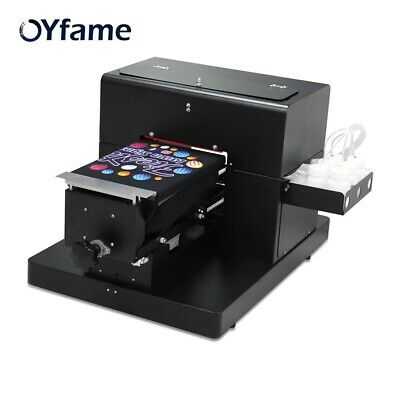 £1666.63 • Buy A4 Flatbed Printer For T-shirt PVC Card Phone Case Multi Color Printing Machine